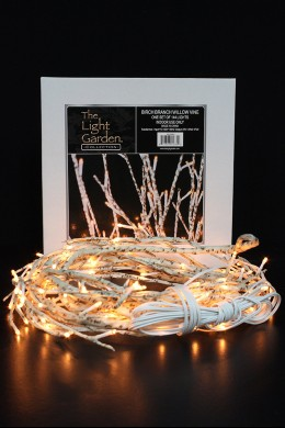 Birch Vine with 144 WARM WHITE LED LIGHTS  [184121] PRE-ORDER END OF FEBRUARY