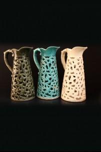 """Ceramic Vase 3 Assorted 15""""H , 10""""W [201268]"""