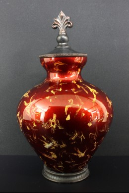 """Glass Jar with Lid 20""""H, 12""""W [201269]"""