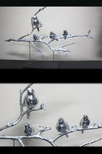 """Birds on Branch 35""""W, 29""""H [201270]"""
