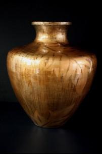 """Lacquer Vase 14""""H, 11""""W [201271]"""