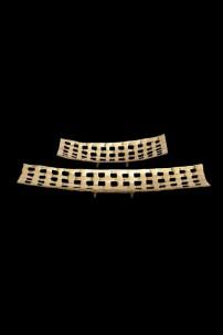 Aluminum Tray Set of 2 [201308]