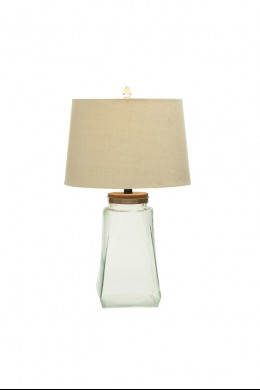 "Glass Fillable Table Lamp 26""H [201348]"