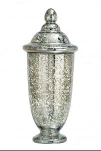 "Glass Mercury Finish 8""W, 18""H [201372]"