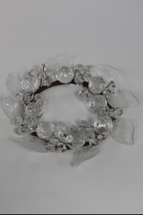 "Leaf Ring, Clear 3.5"" [220126]"