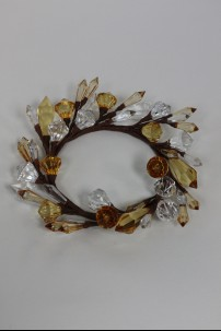 "Diamond Ring, Clear, Amber 3.5"" [220141]"