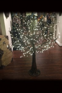 480 LIGHT 5' TWIG TREE,WARM WHITE LEDS [316229]