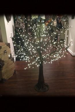 480 Light 5' Twig Tree, Warm White LEDs [316229]