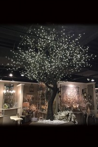 1632 LIGHT 9' TWIG TREE, WARM WHITE LEDS [316230]