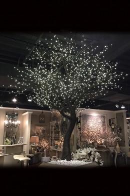 1632 Light 9' Twig Tree, Warm White LEDs [316230]