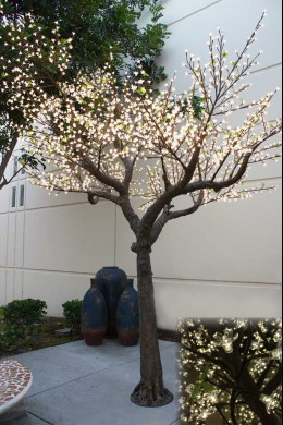 2600 LIGHT 14' BLOSSOM TREE, WARM WHITE LEDS  [391209]