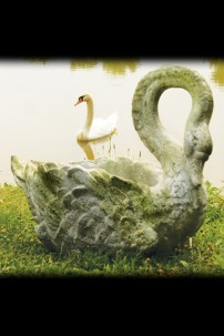 "22"" SWAN GRANDE PLANTER- SHIPS ON PALLET ONLY [367176]"