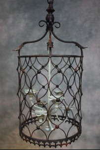 "Metal Hanging Candle Holder, Height: 26.25"" [382106]"