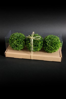 SET OF 3, BALL IN A BOX [901241]