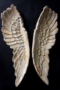 "Angel Wings 11.5X3X41"" SET OF 2 [901278]"