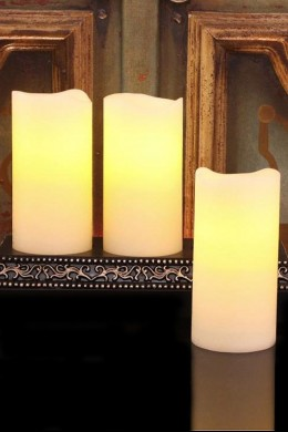 Rechargable Candles with Designer Recharging Base [CNDLRE3]