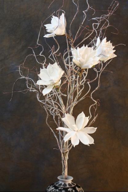 White foam flower 60 inch ff1640 mightylinksfo