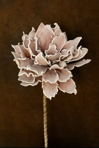 "BLUSH FOAM FLOWER  34""H [FF2080]"