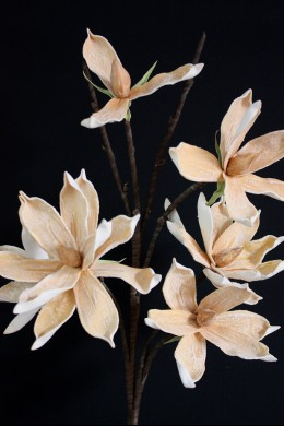 "Beige Foam Flower 42"" [FF2262]"