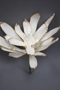 """White Foam Flower 31"""" [FF2282]"""