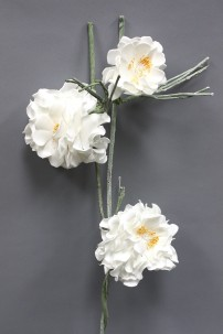 """White Foam Flower 51"""" [FF2289]"""
