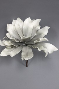 "Grey Foam Flower 11""H x 9""D [FF2290]"