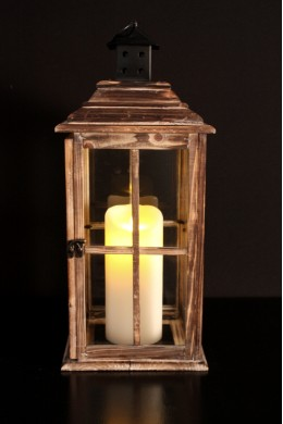 "English Countryside Lantern Height: 23"" [L5006]"