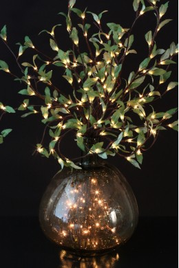 Leaf Willow with 60 Warm White LEDs [LFWLW60]