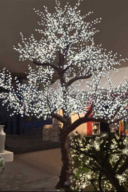 5200 Light, 15' Blossom Tree, Warm White LEDs [TREBL5200]