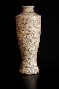 Brocade Tapestry Vase [V11515]