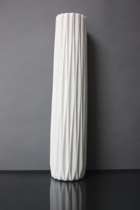 "23.5""H RIBBED CERAMIC VASE [479360]"