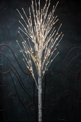 240L/8FT LED GREY BIRCH TREE [423003]