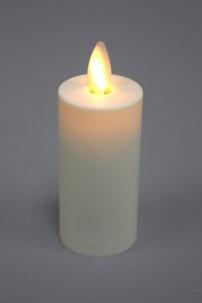 "1.5"" x 4"" IVORY MOVING FLAME PLASTIC VOTIVE [428542]"