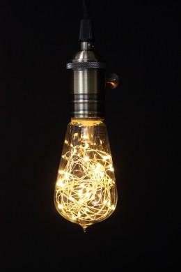 "1W 30 LED  STRING LIGHT BULB 2.25""W x 5""H  [451252]"