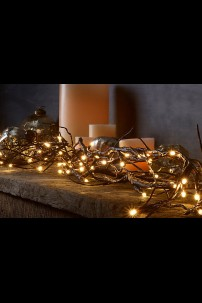 """72"""" WILLOW GARLAND WITH 96 WARM WHITE LEDS - [184163]"""