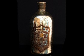 MERCURY BOTTLE VASE 9""