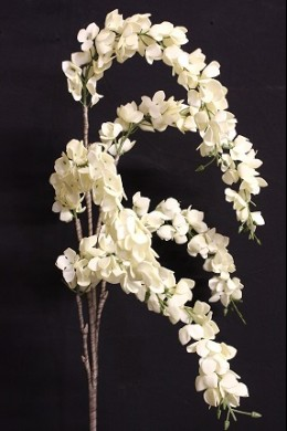 "CREAM FOAM FLOWER 47"" (FF2337)"