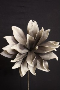 "16""H x 15""D GREY FOAM FLOWER  (FF2340)"