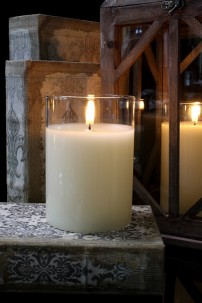 "PRE-ORDER 3.5x5"" SIMPLY IVORY RADIANCE POURED CANDLE [478273]"