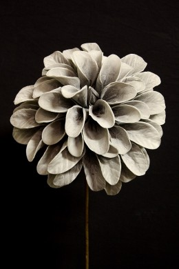 "24"" GREY FOAM FLOWER [FF2350]"