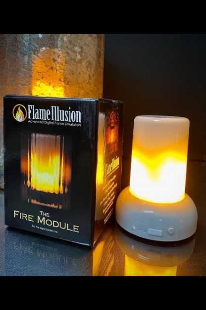 PRE-ORDER JUNE FLAME ILLUSION MODULE  *ORDER  MULTIPLES OF 4*  [571001]