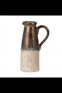 """NATURAL AND BRONZE PITCHER 11"""" (901331)"""