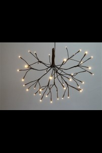 """15""""D Starburst Willow with 48 Warm White LEDS(184160)"""