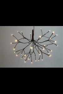 """STARBURST WILLOW 15"""" D, 48 WARM WHITE LED'S (184160)"""