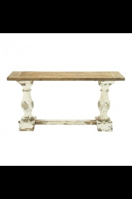 """59""""L x 29""""H WOOD CONSOLE TABLE (201407) SHIPS PALLET ONLY"""