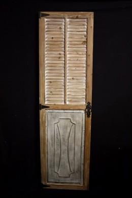 WOOD DOOR PANEL 20x1.5x70 (489365) SHIPS PALLET ONLY