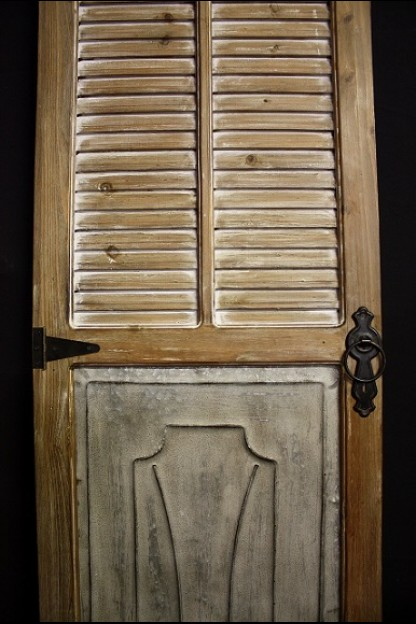 CHARMING WOOD DOOR PANEL (489365) SHIPS PALLET ONLY