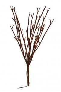 60 Light Willow Branch with Warm White LED's [184136]
