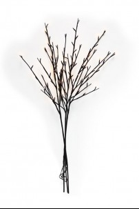 96 Light Willow Branch with Warm White LED's [184137]
