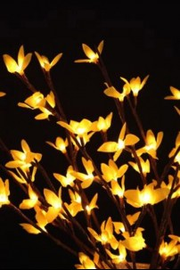 "Yellow Forsythia 60 Light LED 20"" [184146]"